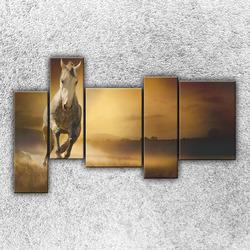 Foto na plátno Běžící kůň 3 190x120 cm