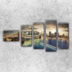 Foto na plátno Světla Brooklynu 110x60 cm