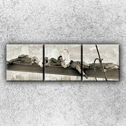 Foto na plátno Spící dělníci 1 75x25