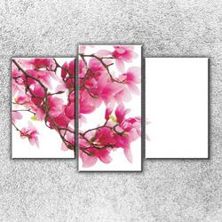 Foto na plátno Růžová větvička 75x50 cm