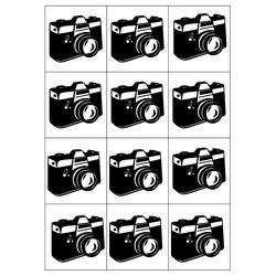 Prošívaná deka oboustranný tisk Šablona z 12 fotek 140x200 cm