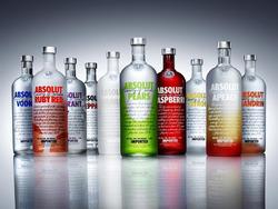 Plakát Lahve alkoholu