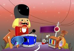 Plakát Dětský bubeníček