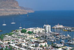 Plakát Panorama přístavu