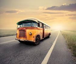 Plakát Retro autobus