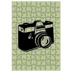 Deka Puzzle efekt 190g/m² 120x150 cm