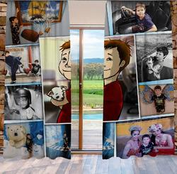 Závěs s neomezeným počtem fotografií, textů, barev 140x250 cm