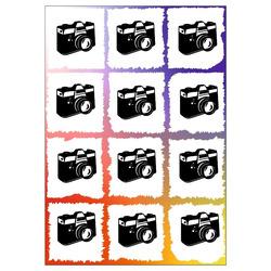 Prošívaná deka oboustranný tisk Potrhané fotky 140x200 cm