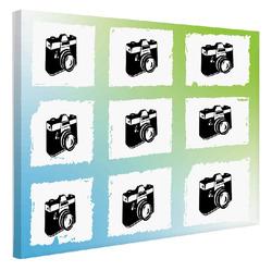 Foto na plátno Potrhané fotky 120x80 cm