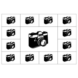 Deka Koláž z 13 fotografií 190g/m² 150x120 cm