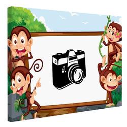Foto na plátno Monkeys 120x80 cm