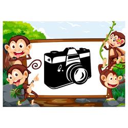 Deka Monkey 360g/m² 150x120 cm