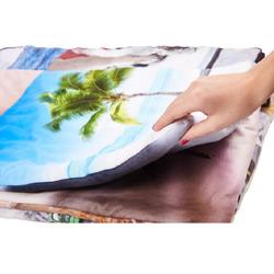 Prošívaná deka oboustranný tisk Patchwork 140x200 cm