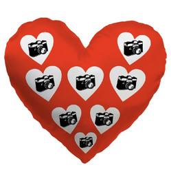 Fotopolštář srdce (70x70) Srdíčka