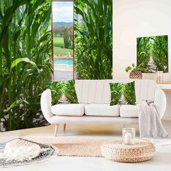Závěsy Kukuřičné pole