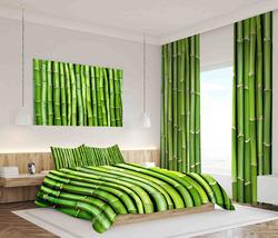 Závěsy Bambus