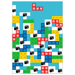 Deka Tetris 360g/m² 140x200 cm