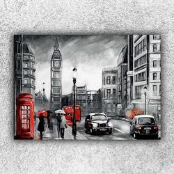Foto na plátno Londýn art 120x80 cm