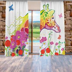 Závěsy Žirafa art