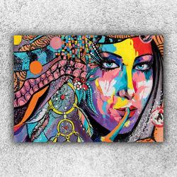 Foto na plátno Indiánka art 120x80 cm
