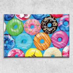 Foto na plátně Donuts 90x60 cm