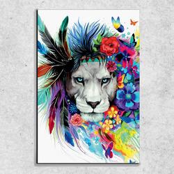 Foto na plátně Lev art 90x60 cm