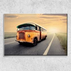 Foto na plátně Retro autobus 90x60 cm