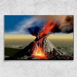 Foto na plátně Sopka 90x60 cm