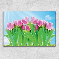 Foto na plátně Tulipány 90x60 cm