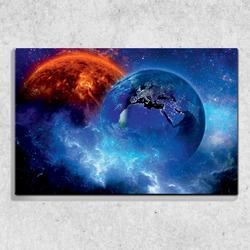 Foto na plátně Vesmír 2   90x60 cm