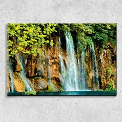 Foto na plátně Vodopád 90x60 cm