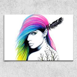 Foto na plátně Miss-art 90x60 cm