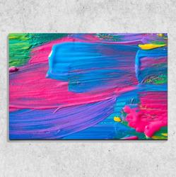 Foto na plátně Tempery 90x60 cm