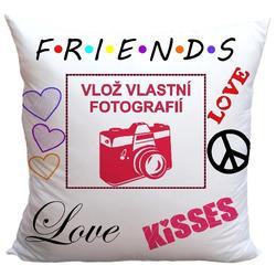 Polštář Friends (vlož fotografií)