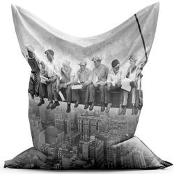 Sedací vak Dělníci na traverze