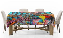 Ubrus Indiánka art