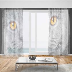 Záclony Kočičí pohled