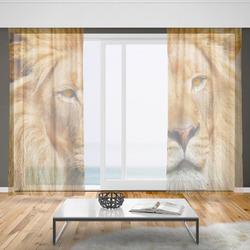 Záclony Lví pohled