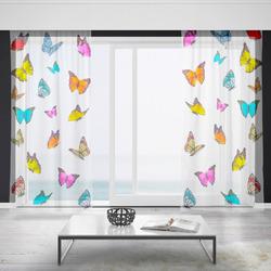 Záclony Motýlci