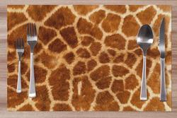 Prostírání Žirafí srst 42x28 cm