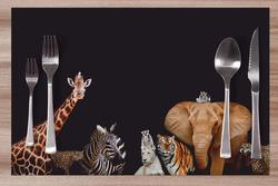 Prostírání Zoo 42x28 cm