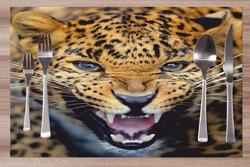 Prostírání Gepardí řev 42x28 cm