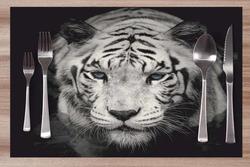 Prostírání Bílý tygr 42x28 cm