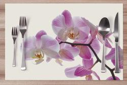 Prostírání Orchidej růžovo-bílá 42x28 cm