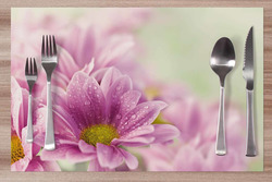 Prostírání Fialové květiny 42x28 cm