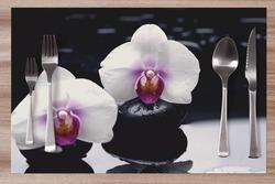 Prostírání Bílá orchidej 42x28 cm