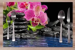 Prostírání Orchidej na kameni 42x28 cm