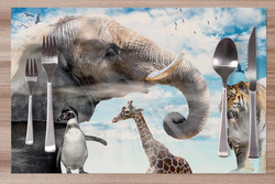 Prostírání Zvířata v nebi 42x28 cm