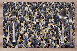 Prostírání Hejno tučňáků 42x28 cm