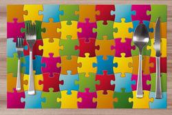 Prostírání Puzzle 42x28 cm
